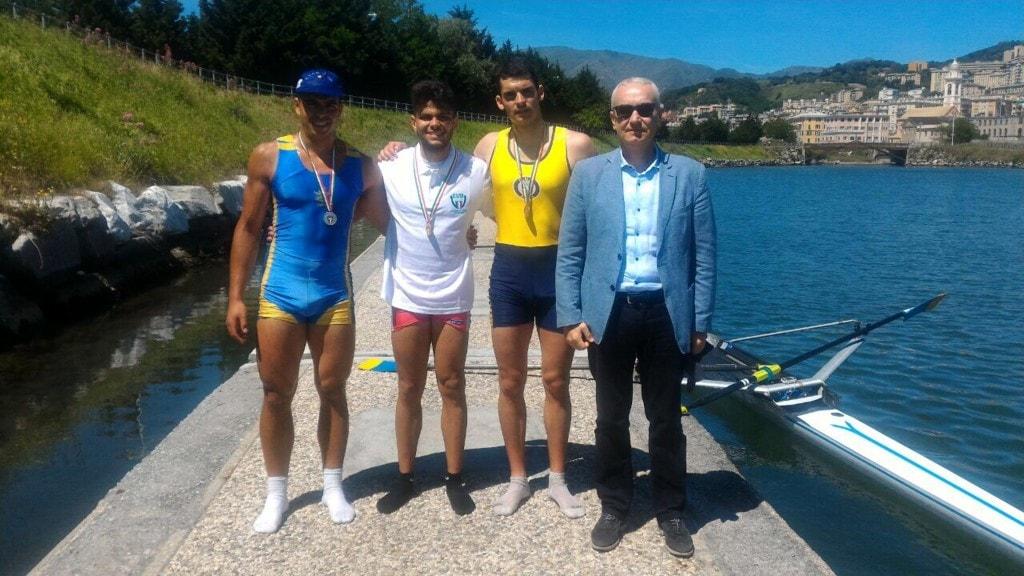 Gianluca Manfredini con Vice Presidente CUSI Eugenio Meschi-2
