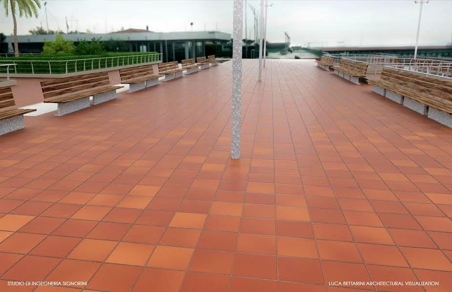Riqualificazione Terrazza Belvedere A Tirrenia