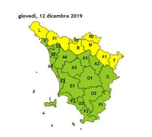 allerta meteo toscana 12 dicembre 2019-2
