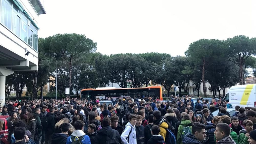 protesta studenti marchesi 16 novembre 2019-4