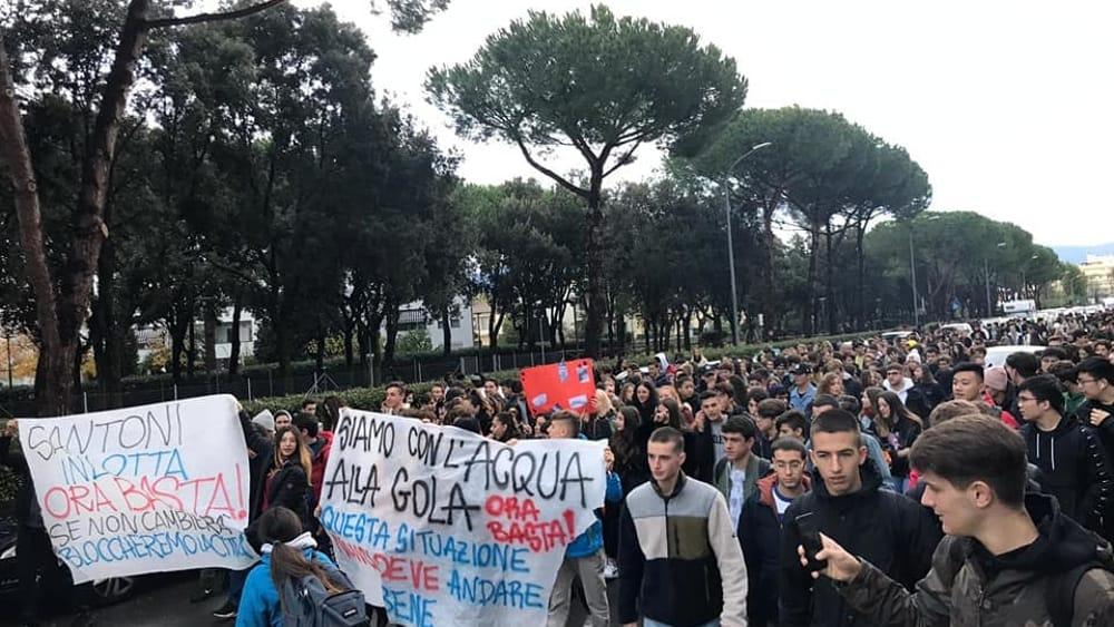protesta studenti marchesi 16 novembre 2019 3-2