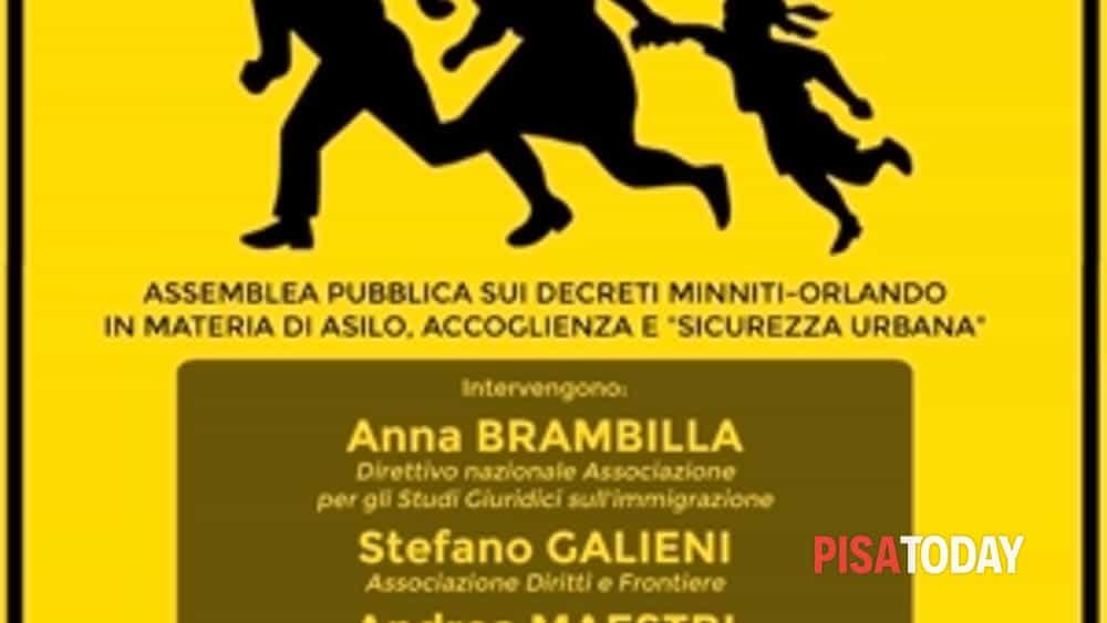 la sinistra di alternativa convoca a pisa un'assemblea pubblica contro i decreti minniti-orlando-2