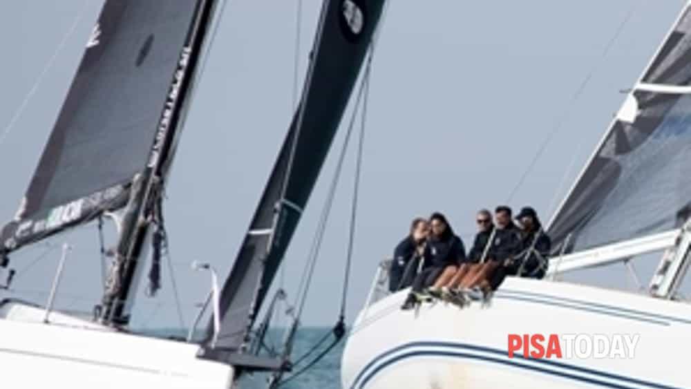 a marina di pisa sta per concludersi il campionato invernale del ccvat-2