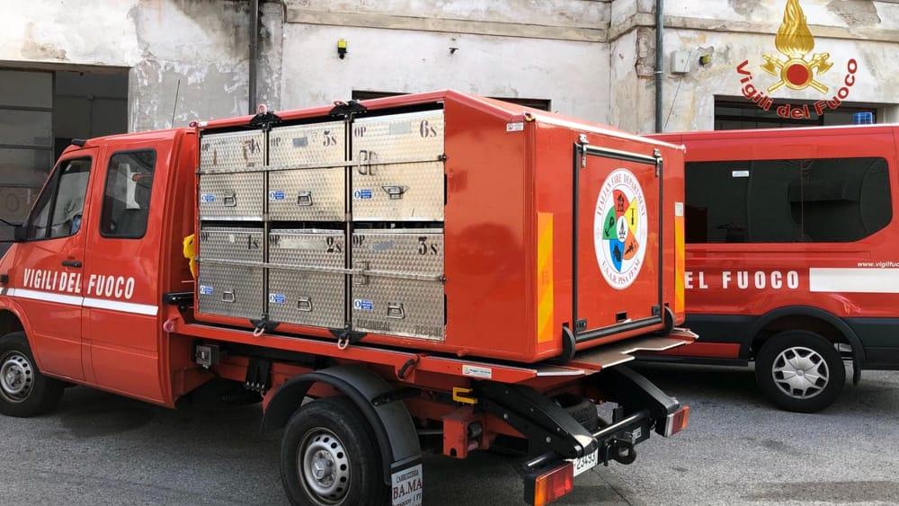 partenza terremoto albania vigili del fuoco pisa 5-2