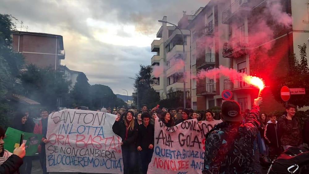 protesta studenti marchesi 16 novembre 2019 2-2
