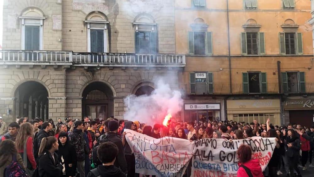 protesta studenti marchesi 16 novembre 2019 5-2
