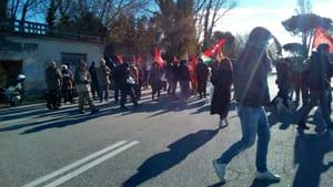 Manifestazione Camp Darby ferrovia della morte 9 dicembre 2017 2-2