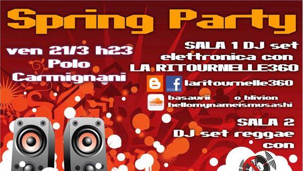 Spring Party al Polo Carmignani