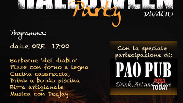 Halloween al palazzo del borgo di Rivalto