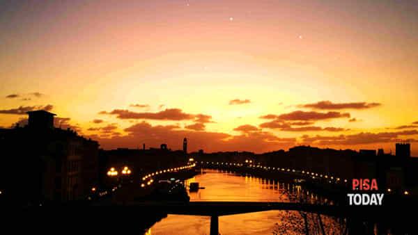 'Sull'Arno sotto le stelle'