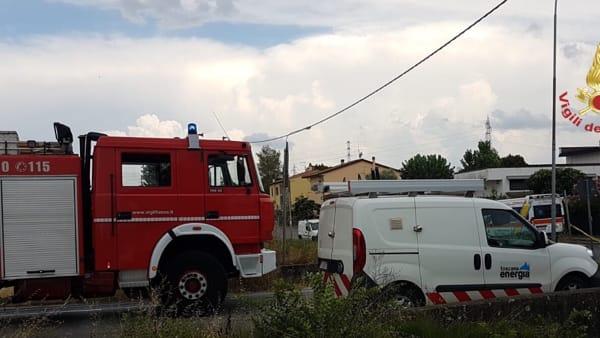 fuga gas cascina 13 agosto 2018-2