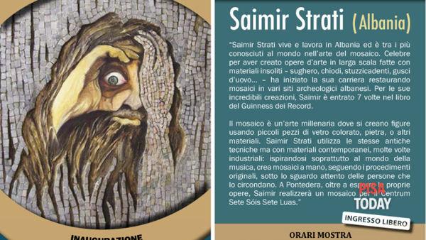 """""""Seven stars"""" di Saimir Strati: l'artista dei record espone a Pontedera"""