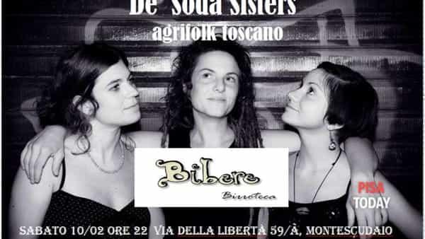 'De' soda sisters' alla birroteca Bibere