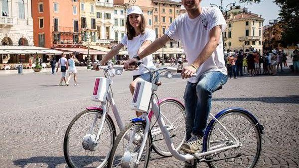 Tour di Pisa sulle bici elettriche