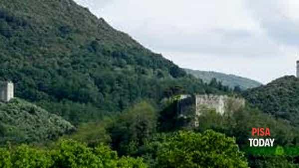 Ripafratta e il Monte maggiore