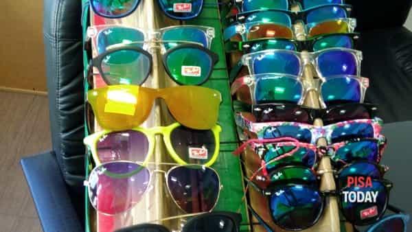 occhiali contraffatti