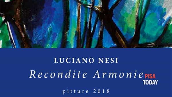 Inaugurazione della mostra 'Recondite Armonie' al Teatro Flacco