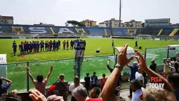 Triestina - Pisa: 500 tifosi nerazzurri per la rifinitura