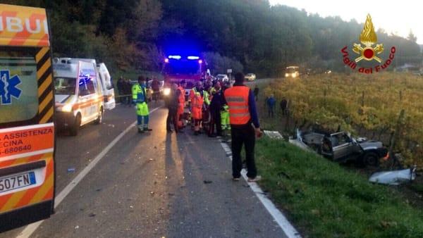 incidente stradale riparbella 23 novembre 2017 1