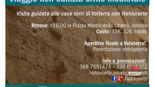 Le torri di Volterra con Natourarte - Viaggio nell'edilizia civile medievale