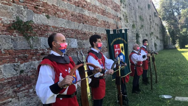 Sulle Mura di Pisa ricostruzione storica dell'antica battaglia del 1500