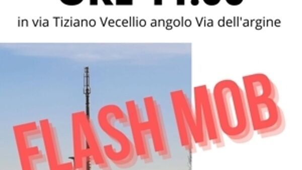 No antenna, flash mob al Cep