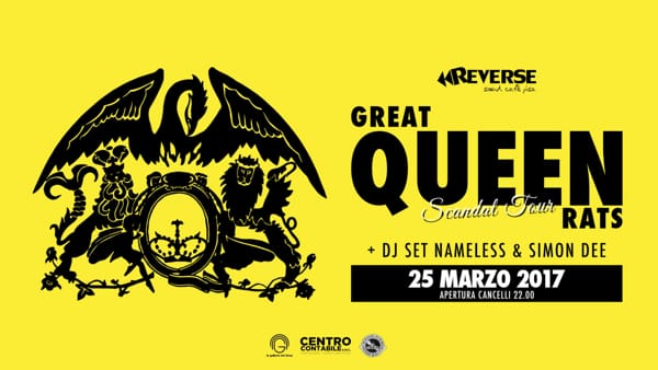 Great Queen Rats Live + Dj set al Reverse