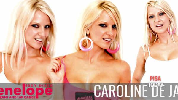 Caroline de Jaie al Sexy Disco Penelope