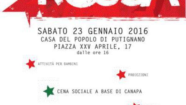 Notte Rossa alla Casa del Popolo di Putignano