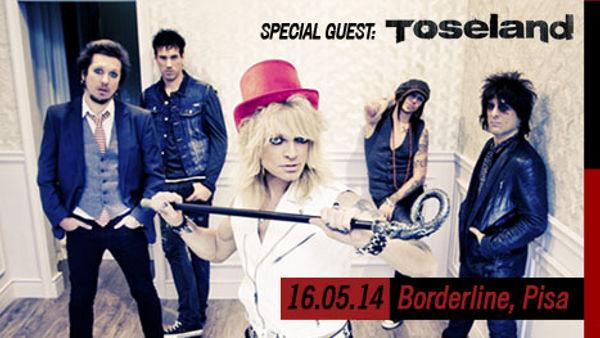 Michael Monroe + Toseland in concerto al Borderline