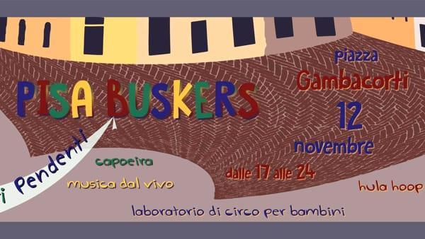 Pisa Buskers: festival di artisti di strada 'Arti pendenti'