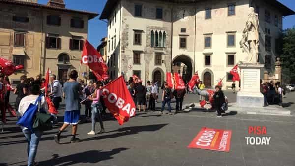 protesta lavoratori normale santanna 4-2