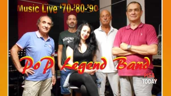 'Pop Legend Band' in concerto a Cascina