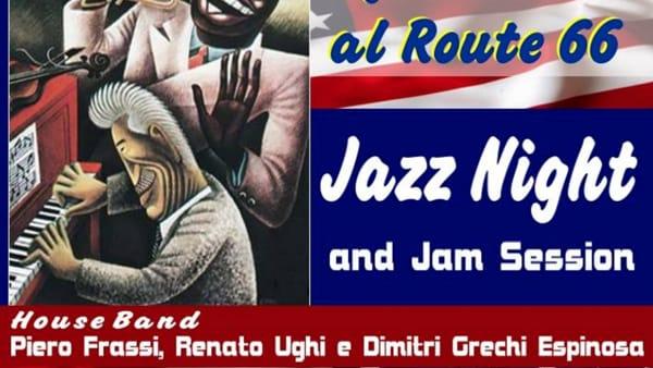 Jazz night e Jam session al Route 66