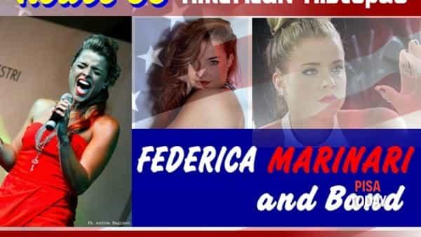 Federica Marinari in live concert al Route 66