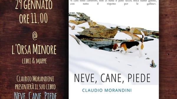 Presentazione del libro 'Neve, cane, piede' di Claudio Morandini