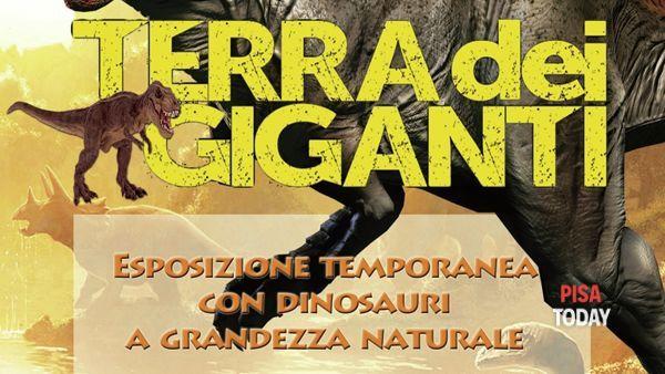 Terra dei giganti: dinosauri a grandezza naturale