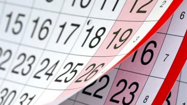 Ponti e feste 2020: ecco il calendario completo