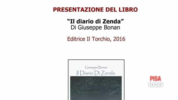"""Presentazione del libro """"il diario di Zenda"""" di Giuseppe Bonan al Blu Book"""