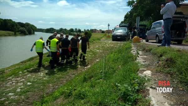 cadavere Lungarno Guadalongo Pisa 14 giugno 2018 2-2