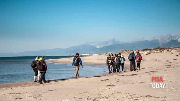 Escursione da San Rossore fino al mare