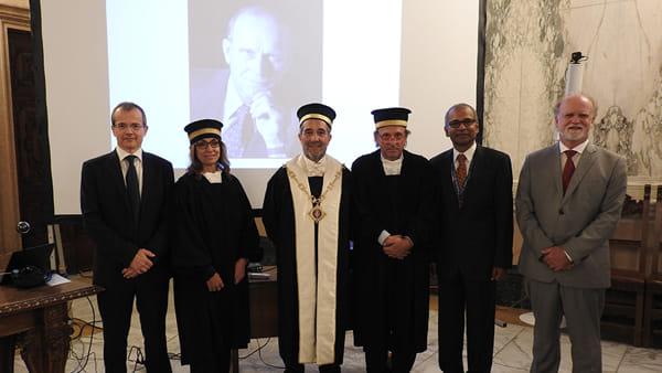 Università: a Federico Faggin il dottorato honoris causa ...