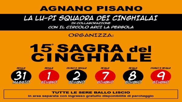 Sagra del Cinghiale: ad Agnano Pisano tutto pronto per la 15° edizione