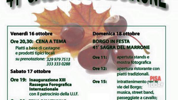 41° Sagra del marrone a Rivalto