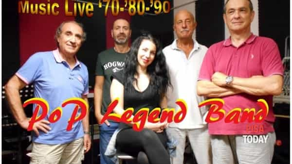 Pop Legend Band in concerto a Cascina