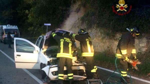incidente stradale riparbella 23 novembre 2017 2-2