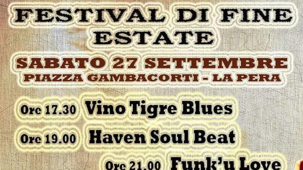 Festival di fine estate in Piazza della Pera