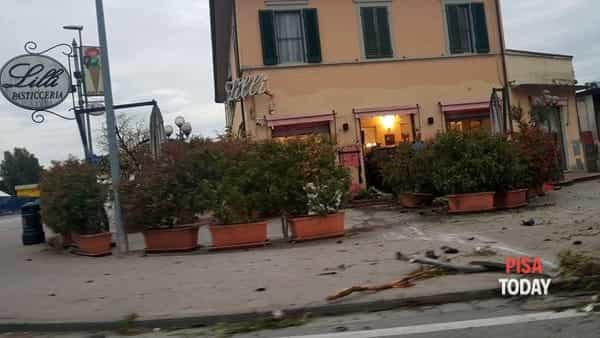 Incidente bar lilli pisa 26 maggio foto Lorenzo Davini 3-2