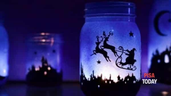 Laboratorio creativo: le lanterne di natale!