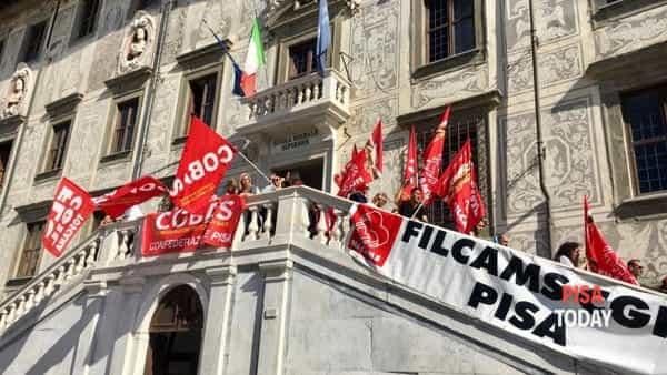 protesta lavoratori normale santanna 2-2